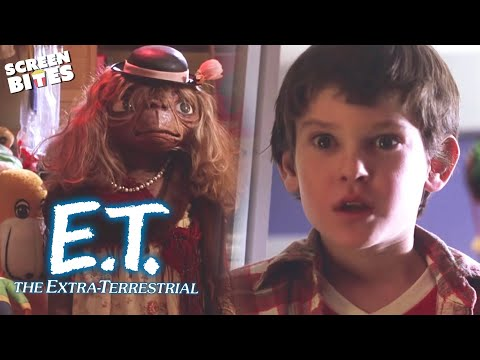 E.T. the Extra-Terrestrial | Phone Home (ft 'Elliot', Henry Thomas and 'Gertie', Drew Barrymore)