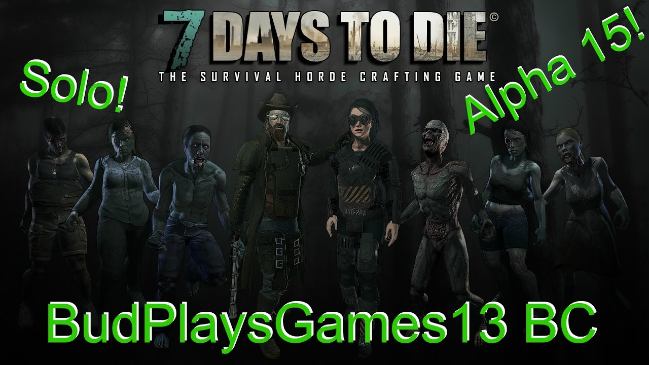 Unlimited Food Source On Navezgane 7 Days To Die Alone Alpha 15 Ep4 Youtube