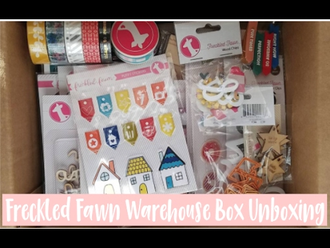 Freckled Fawn Birthday Warehouse Box