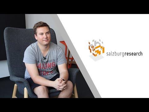 Salzburg Research Einblicke: Werkstudent Fabian Gold