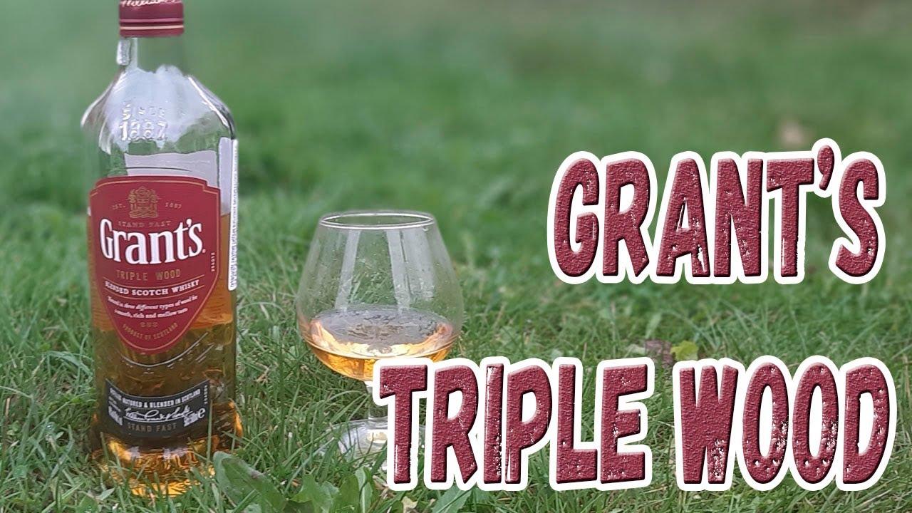Виски. Grant's Triple Wood