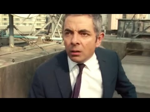 The Chase | Funny Clip | Johnny English Reborn | Mr Bean Official