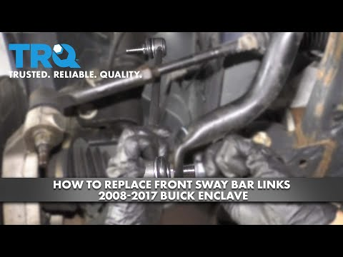 How to Replace Front Sway Bar Links 2008-17 Buick Enclave