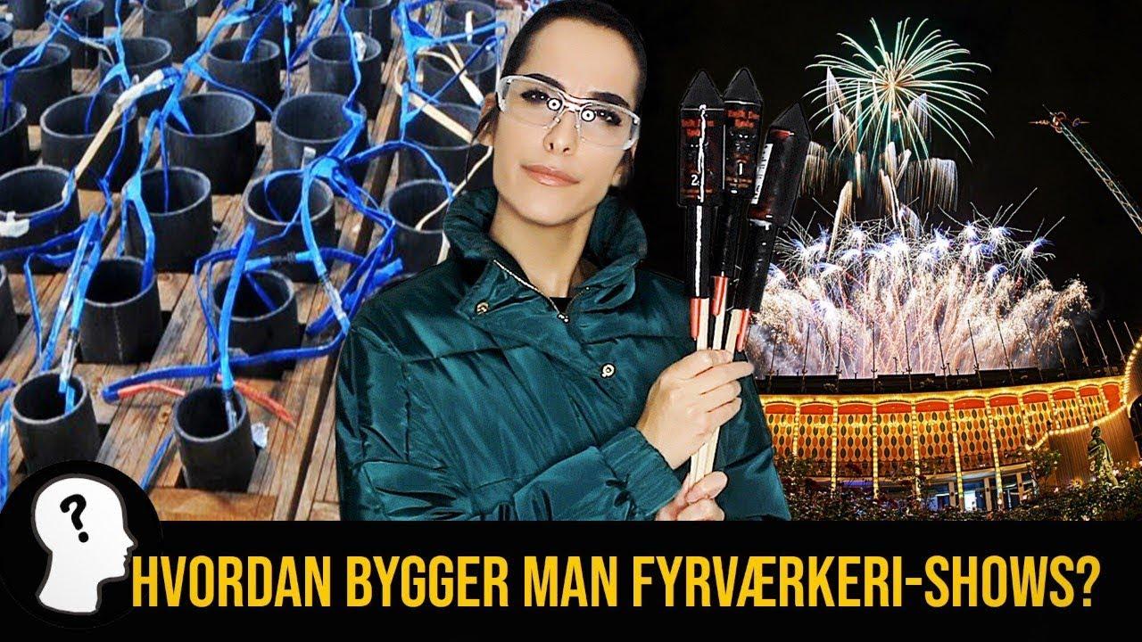 HVORDAN BYGGER MAN ET FYRVÆRKERI-SHOW?