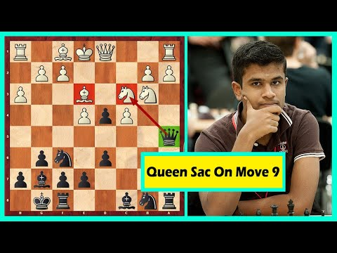 """Queen Sacrifice On Move 9 Or The New """"Game Of The Century"""""""