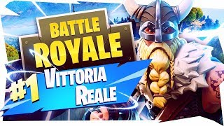THE REAL VITTORY FROM 275m OF CECCHINO!! THE VICHINGO SPACCATUTTO - Fortnite Battle Royale