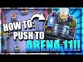 HOW TO GET TO ELECTRO VALLEY ARENA 11! EASY! Top 5 Ladder Deck - Clash Royale Best Arena 10 Deck