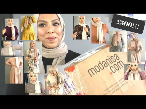 MODANISA MODEST FASHION DRESS HAUL | 2020