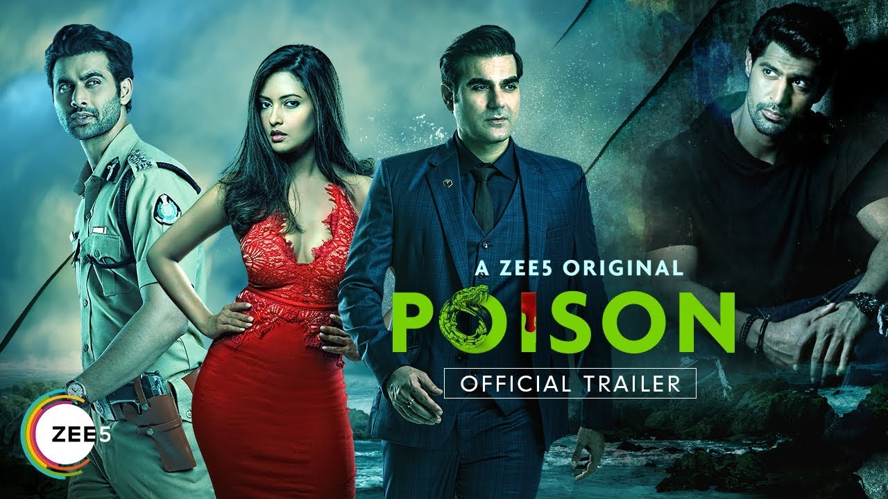 Poison | Official Trailer | A ZEE5 Original | Arbaaz Khan | Streaming Now  On ZEE5