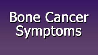 Bone cancer symptoms in children