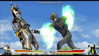 (PPSSPP) Ultraman Fighting Evolution 0 Imitation Dyna Miracle (Evil) Vs Shining Zetton