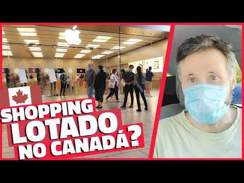 COMO ESTÁ O SHOPPING NO CANADÁ DURANTE A PANDEMIA? - Vlog Ep.144