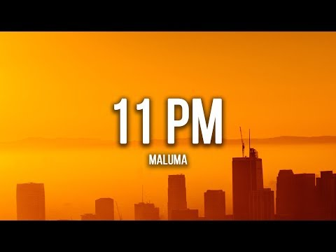 Maluma – 11 PM (Lyrics / Letra)
