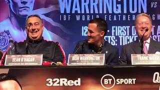 WARRINGTON VS TAKOUCHT, ARTHUR VS ANIM, BARRETT VS McCORRY PRESS CONFERENCE HIGHLIGHTS LEEDS