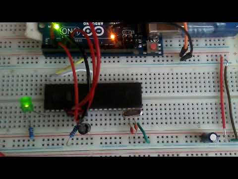 AT89S52 programming with Arduino 8051 *** Persian / Farsi ***