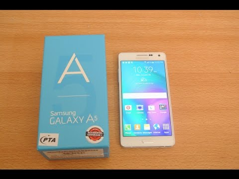 Samsung Galaxy A5 - Unboxing, Setup & First Look HD