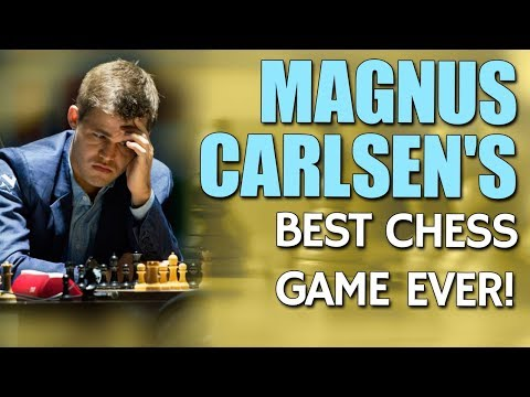 Magnus Carlsen's Best Chess Game 🎮 Ever by GM Nadya Kosintse