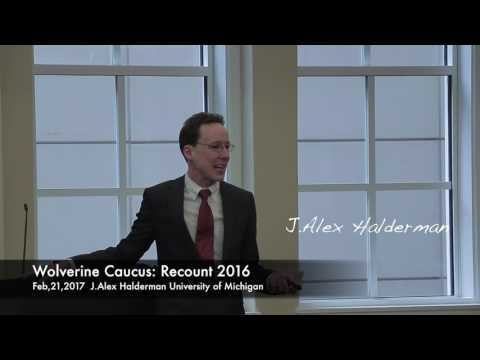 2016 Election Integrity – Was the Presidential Election Hacked