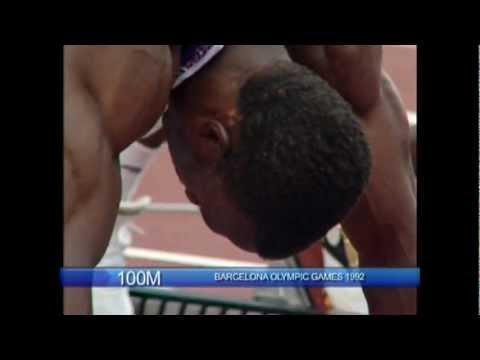 Linford Christie - Barcelona Olympics 1992 - 100m