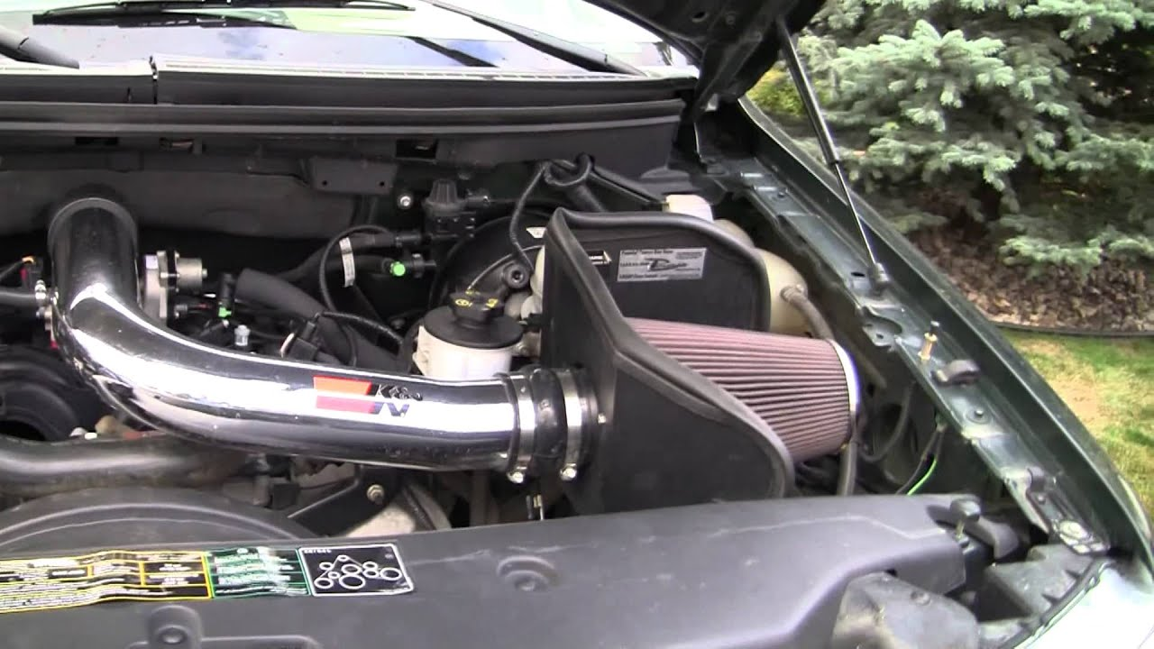 Fan Spacer Cold Air Intake : Ford f supercrew lariat youtube
