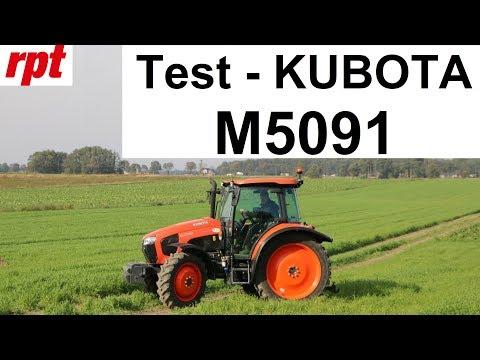 Kubota M5091 w teście RPT