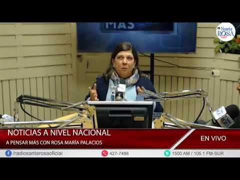 'A PENSAR MÁS CON ROSA MARÍA PALACIOS.' 22-06-2018