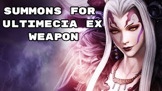Live summons for Ultimecia DFFOO