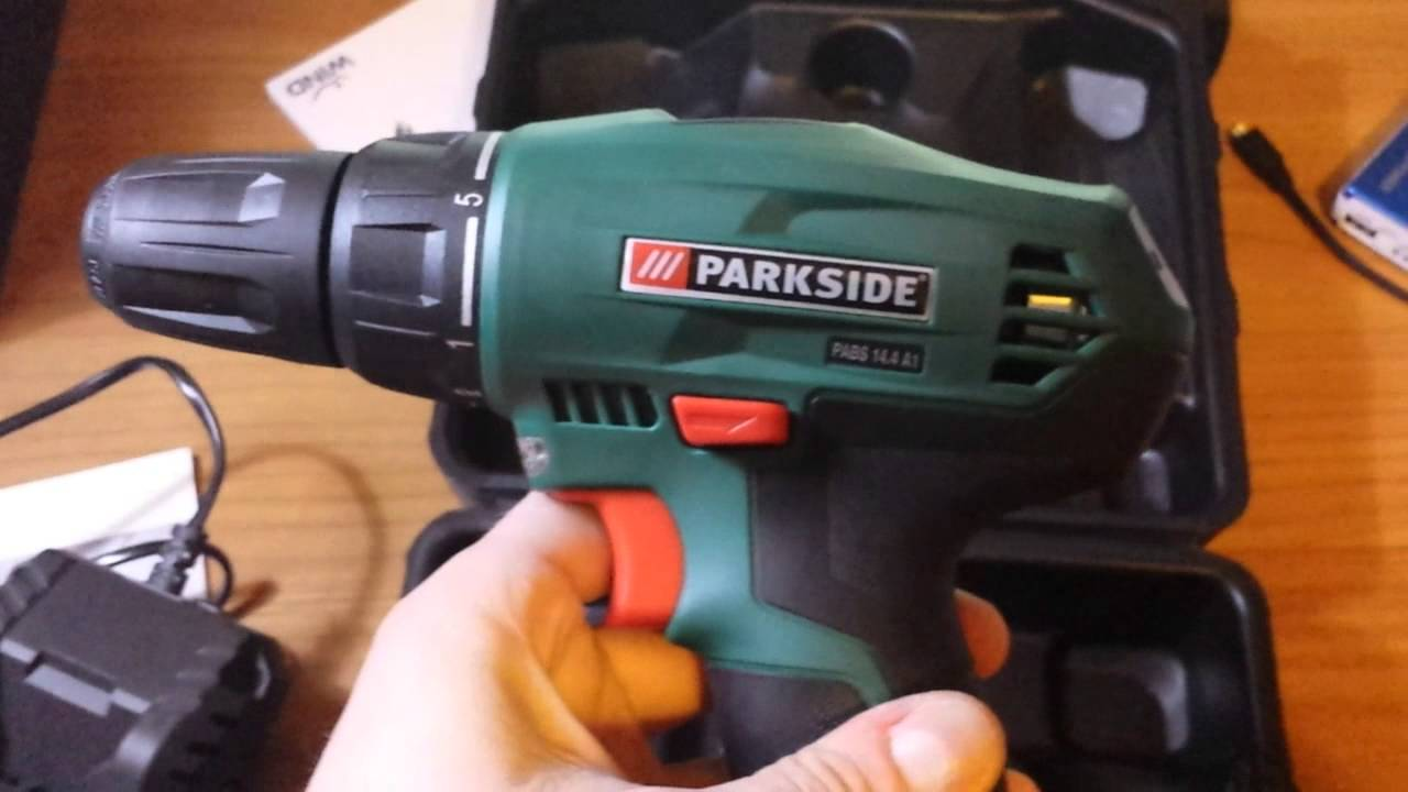 Parkside cordless drill 14 4v 1 3ah youtube for Trapano avvitatore parkside