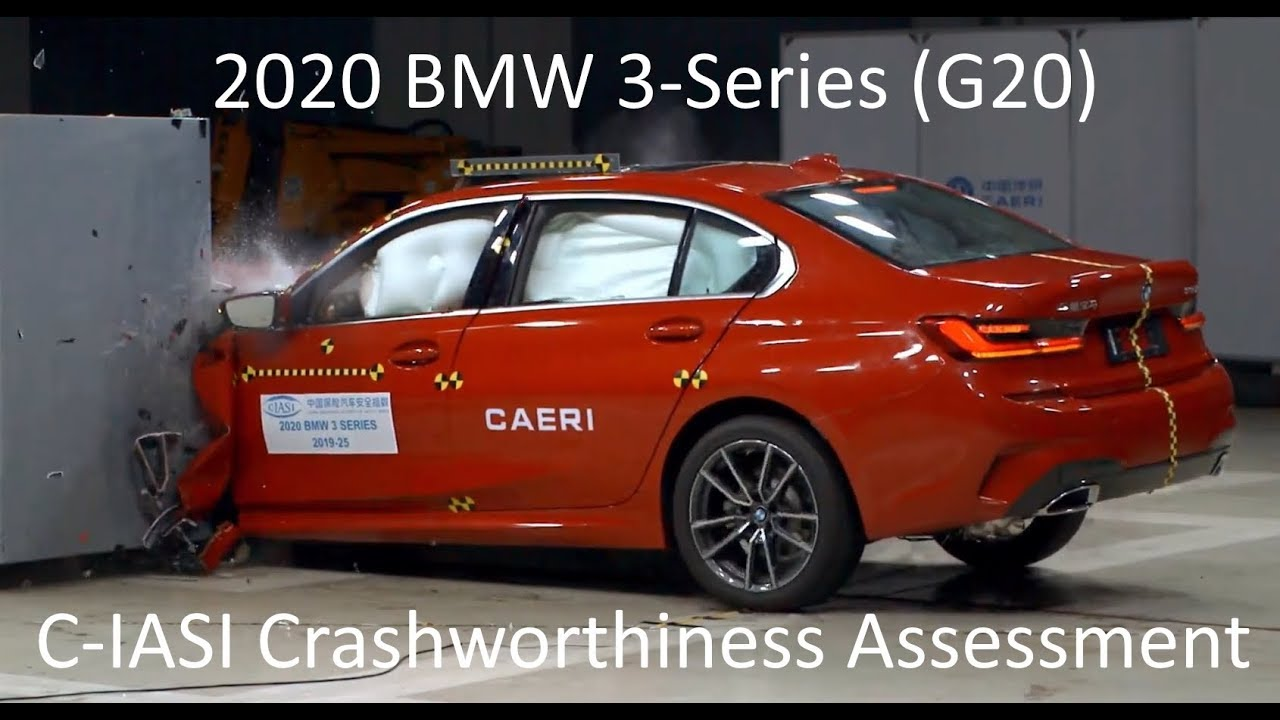 2020-2021 bmw 3-series  325li - g20  c-iasi crashworthiness tests