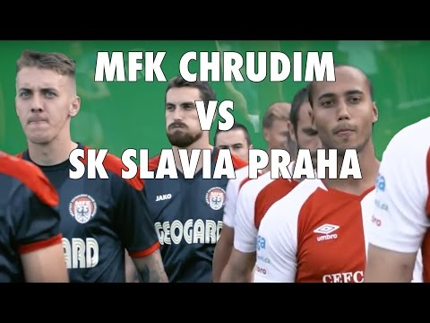 3. kolo MOL Cupu: MFK Chrudim - SK Slavia Praha