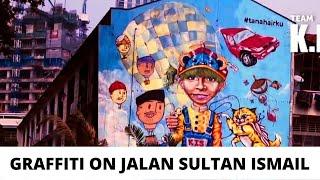 Graffiti in Kuala Lumpur, Malaysia - Jalan Sultan Ismail