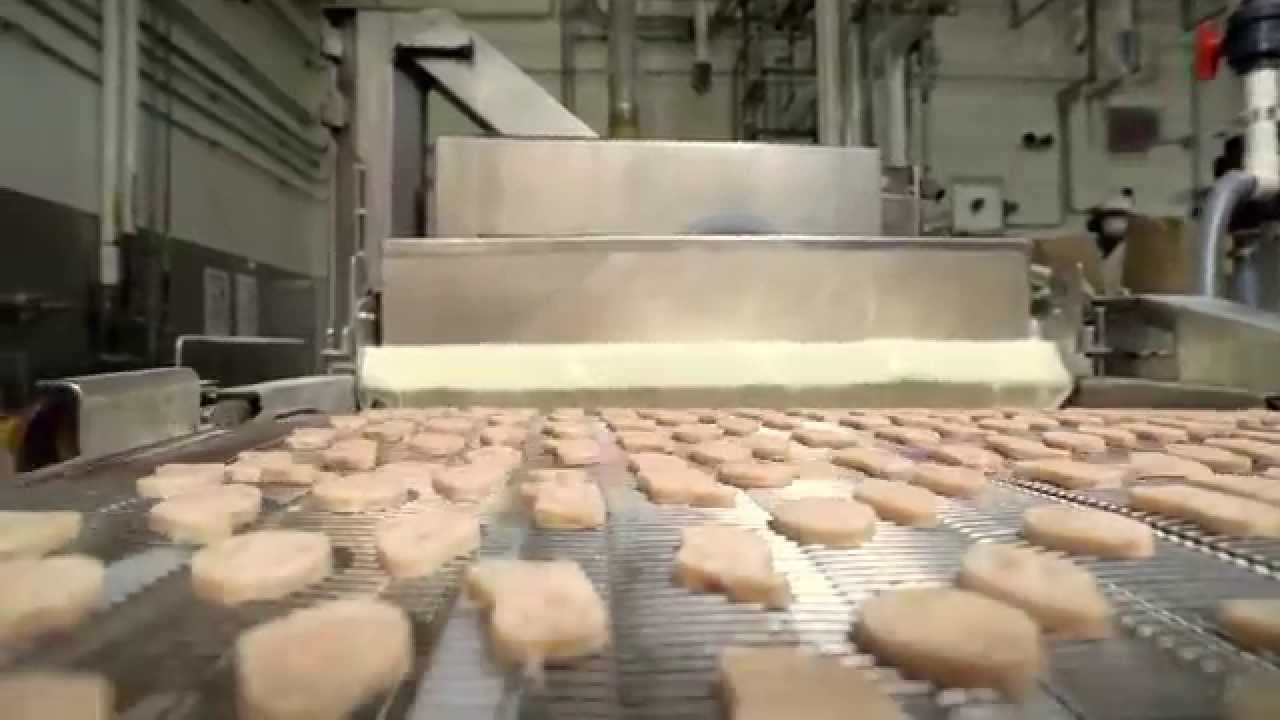 Witness The Birth Of A McDonald's Chicken McNugget : The Salt : NPR