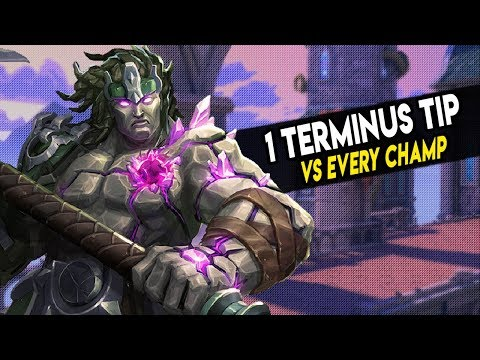 1 TERMINUS TIP VS EVERY CHAMPION   ft. Kresnik