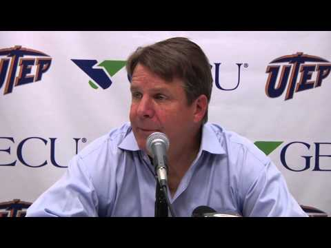 Post Game Press Conference: UTEP vs. NM State