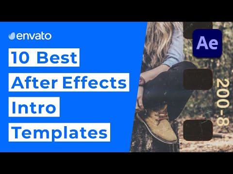 10 Best After Effects Intro Templates [2020]