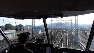 近鉄特急アーバンライナー(plus)伊勢中川短絡線走行車窓光景