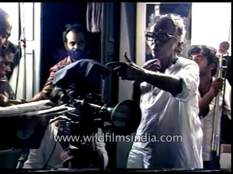 Mrinal Sen shooting Bengali cinema: rare archival footage