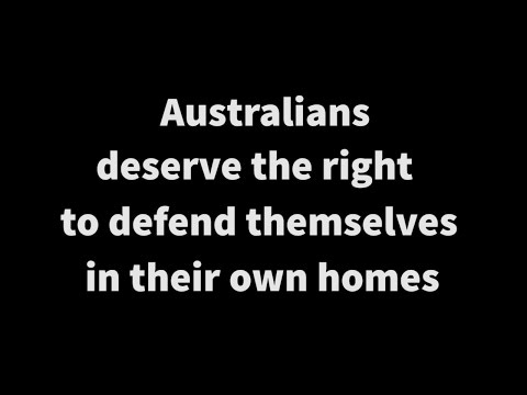 Home invasions and Australians right to self defense