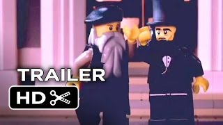 The LEGO Movie Official DVD Release Trailer - Michelangelo & Lincoln: History Cops (2014) HD