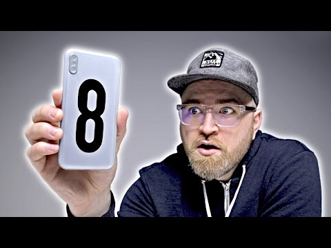 Thumbnail: iPhone 8 Hands On With Mock-Up