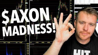 DAY TRADING $AXON FOR $499! T-SHIRT WINNERS!