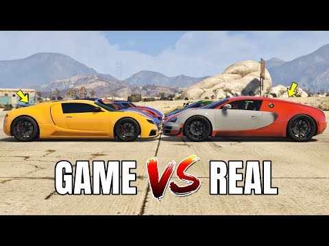 GTA 5 ONLINE - GTA 5 CARS VS REAL LIFE CARS PART #02 (WHICH IS FASTEST?)Kaynak: YouTube · Süre: 4 dakika31 saniye