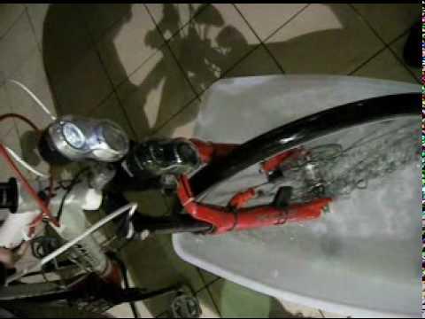 HGW Hub Dynamo test Movie / Waterproof.mpg