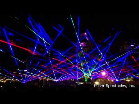 Sun City Music Festival Laser Show - El Paso, TX Aug. 31, 2013