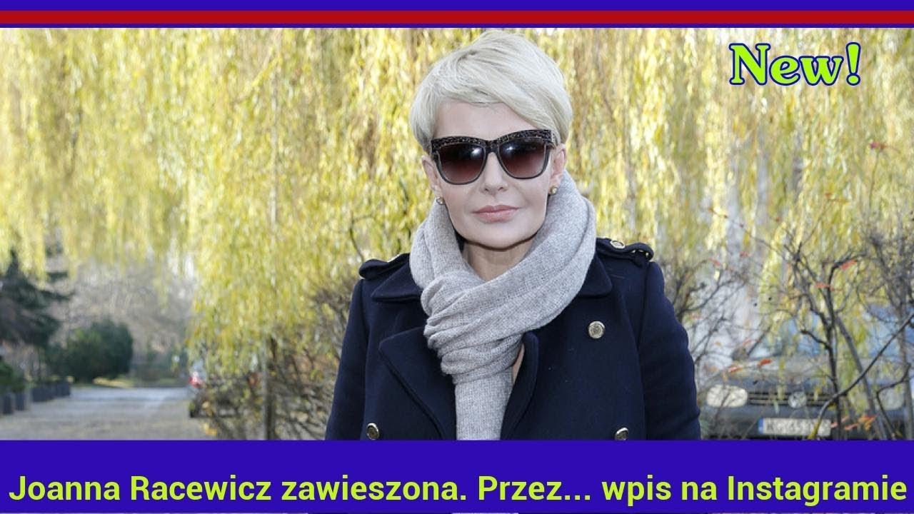 Joanna Racewicz zawieszona. Przez… wpis na Instagramie