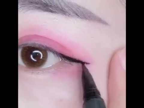 Cách vẽ mắt và kẻ mày đơn giản nè
