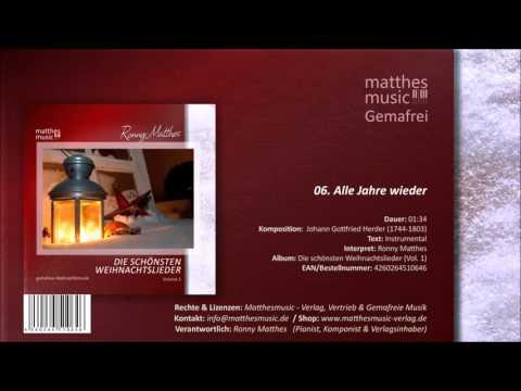 Alle Jahre wieder (06/14) [Gemafreie Weihnachtsmusik] - CD: Die schönsten Weihnachtslieder, Vol. 1