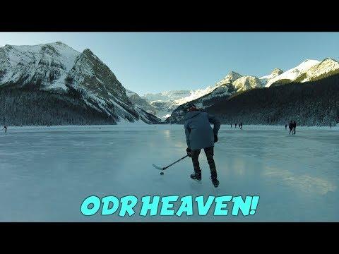 ODR HEAVEN! Outdoor Hockey in Lake Louise (GoPro)
