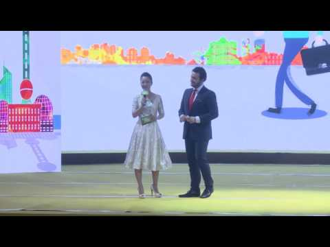 Full Chinese Speech, TS Group HCMXpress Shanghai Jing'An Govt. Top 50 Enterprise Award