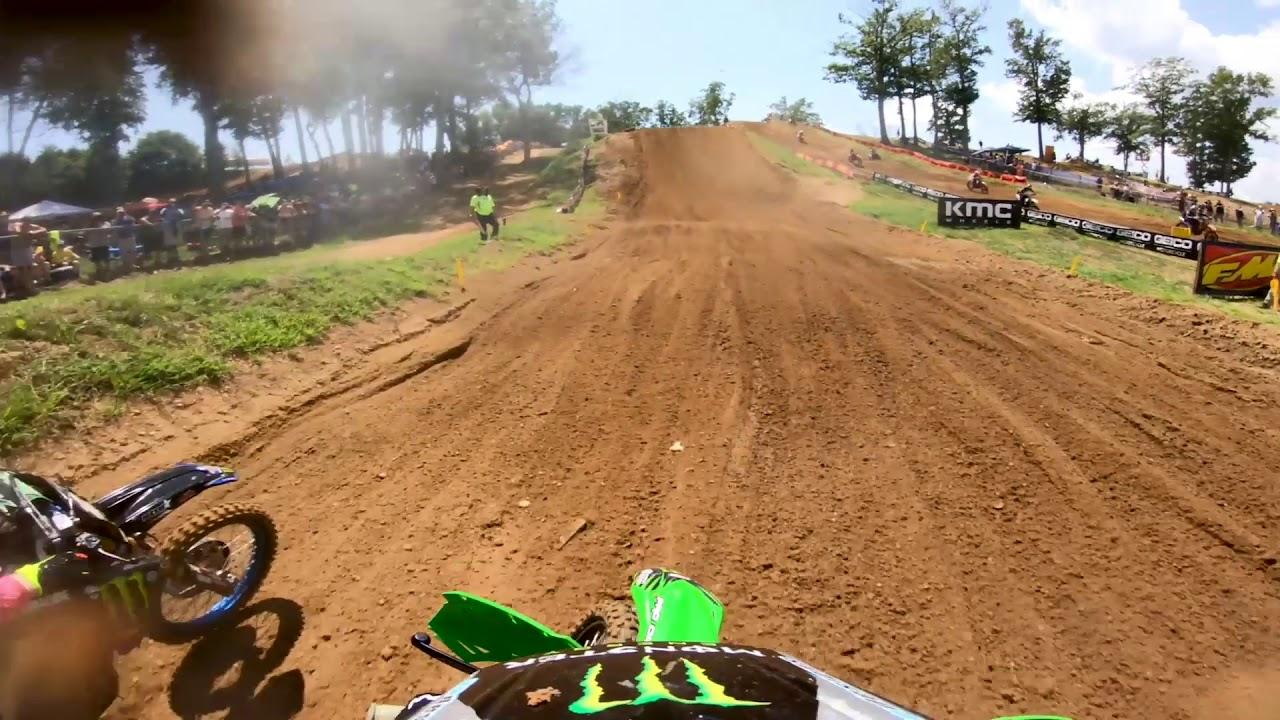Download GoPro: Adam Cianciarulo - 250 Moto 1 - 2019 Budds Creek Mx National - Lucas Oil Pro Mx Championship